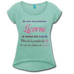 tee shirt licorne