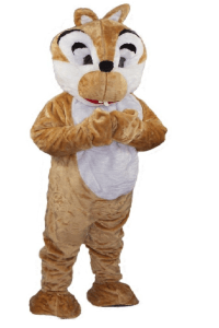 tête écureuil