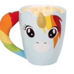 mug licorne multicolore