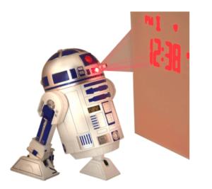 Réveil Projection R2D2 StarWars